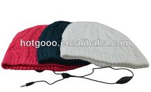 Plain Beanie Knit Ski Cap Skull Hat Warm Solid Color Winter Cuff New Blank Beany