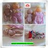 ICTI manufacture wholesale vinyl baby dolls small
