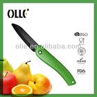 PP Handle Sharp Blade Ceramic Pocket Knife