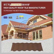 Stylish Design Sand Coating Mediterranean Roof Tile