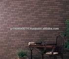 AT-WALL 15Y Yamagata natural snapped tiles 16SF house siding made in Japan