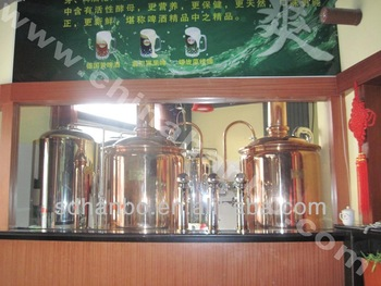 700L red copper beer pouring machine/electric melt pots