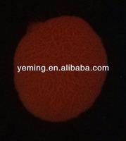 red photoluminescent pigment/glow in dark powder/luminous pigment