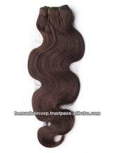Wholesales great lengths natural color natural wave Brazilian human hair extensions