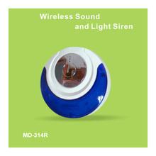 Sem fio opcional home strobe siren para uso escolar
