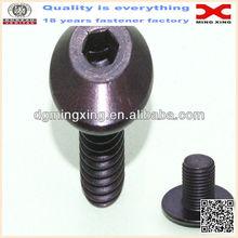 Steel Socket Cap Screw, Black Oxide Finish, Internal Hex Drive