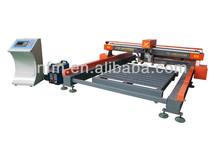 Alta calidad cnc máquina de corte de acero con fuerte bastidor de la máquina, Corrientes de precisión