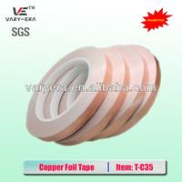 Free Shipping 10MM X 30M Conductive Copper Foil Tape Copper Strip,High Temperature Resistant Tape