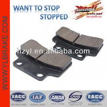 High performance brake system brake pads for trucks