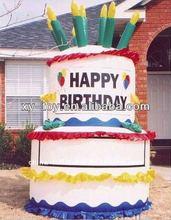 Custom advertising giant inflatable birthday cake