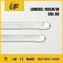 PF>0.95 led light fitted in fluorescent tube bracket
