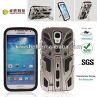 new patent mobile phone kickstand case cell phone casing for Samsung S4
