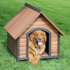 Comfortable Indoor Dog House / Wooden Dog Crate Wholesale