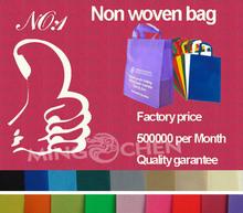 2014 nuovo anno pubblicità dei prodotti china wholesale ecologico moda sacchetto non tessuto shopping, borse per la spesa