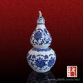 varios chinos azul y blanco al por mayor de la botella de vino
