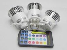 16 colors 5watt led decorative lights