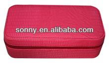 Eco-friendly Kids Love Exquisite Candy Color PU Designer Pencil Case Bags