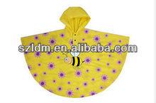 Promotional Corporate Logo Disposable Rain Ponchos