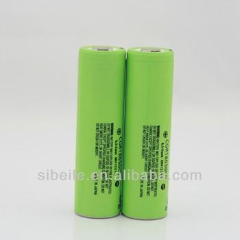 Panasonic alkaline battery/panasonic cordless drill batteries/ CGR18650CG 3.6v 2250mAh battery cell