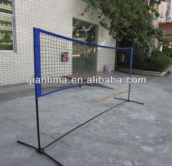 Backyard Volleyball Net Height : Height Adujstable Badminton Net,Tennis Volleyball Net With Stand