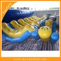 Warmwasser spielzeug- aufblasbare wasser-wippe