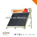 Vendita calda eco- Amichevole solar keymark& ce tetto piano/terra compatto a bassa pressione energia solare di calore acqua calda