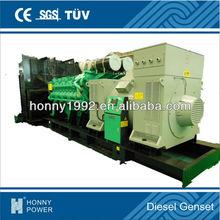 Honny Sino-US Googol Brand Diesel Generator 2500 kVA