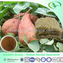 100% naturelles séchées douce congelés de la farine de pomme de terre en vrac