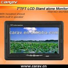 "7"" RCA/BNC connector cctv monitor av monitor(MU7002)"