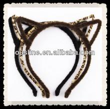 fashion korean hair accessories,lovely cat ears headband/hairbands,punk style headbands