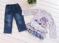 atacado de alta qualidade infantil roupa da menina de roupas