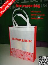 2014 porcellana produzione natale sconto prezzo marketing pubblicità sacchetto/non tessuto eco hangbag/made in china wholesale