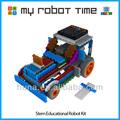 Mrt 3-2 haste educacionais blocos de plástico kit de robô para a escola primária