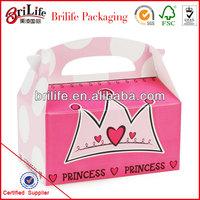 High Quality Fashion Custom Wholesale paper cardboard lunch box