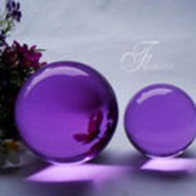 Shinning transparent crystal glass ball ,clear crystal ball for house decor