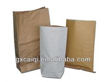 Multi layers kraft paper bag for food packing