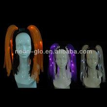 Light up head bopper ,led noodle hair