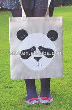 fireproof-fabric colorful digital print plain nylon shopping bag