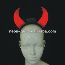 Halloween costume LED devil horns