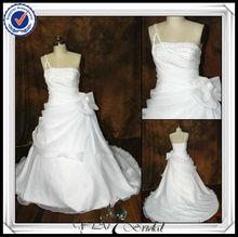 jj0096 correa de cuentas bola de organza vestido de novia vestidos