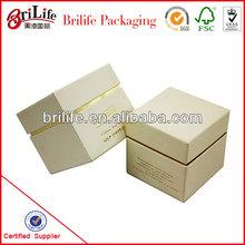 High Quality Fashion Custom kraft paper candle boxes