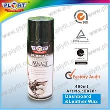 dashboard cleaner wax spray