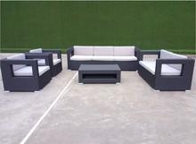 New Design Patio Rattan and wicker used cast iron patio furniture