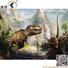 2015 ultima immagine lenticolare famoso dinosauro design