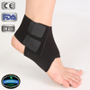 colorful Multidirectional stretch neoprene removable elastic straps adjustable open toe ankle splint