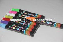 New designs of Highlighter,Fluorescent Pen High Quality Window Chalk Marker Pen
