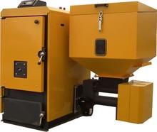 Biomass-pellet and wood boiler MCL-BIO