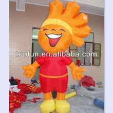 customized outdoor cheap inflatable fix cartoon for advertising