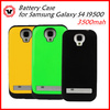Newest designs rechargeable Backup Power Battery Case for Samsung Galaxy S4 9500