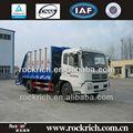 caliente la venta de la marca dongfeng nuevo 4x2 de basura compactador de basura de camiones